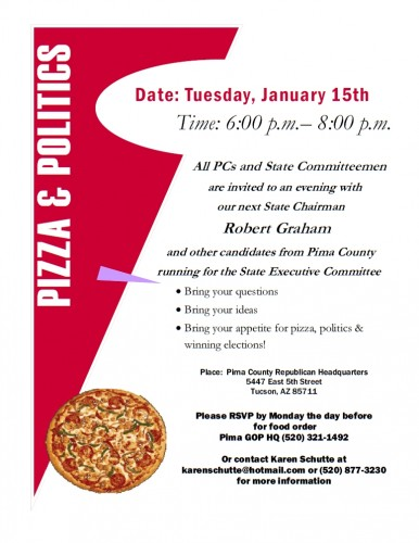 Pizza & Politics Pima County