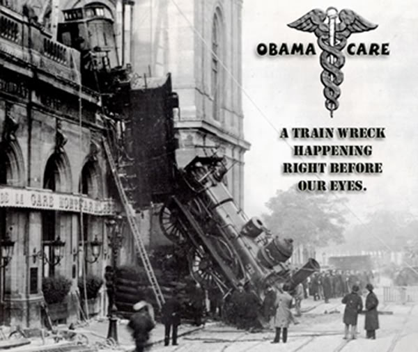 obamacare lie trainwreck