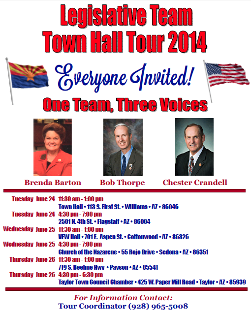 Town Hall Tour Barton