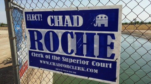 Chad Roche Sign