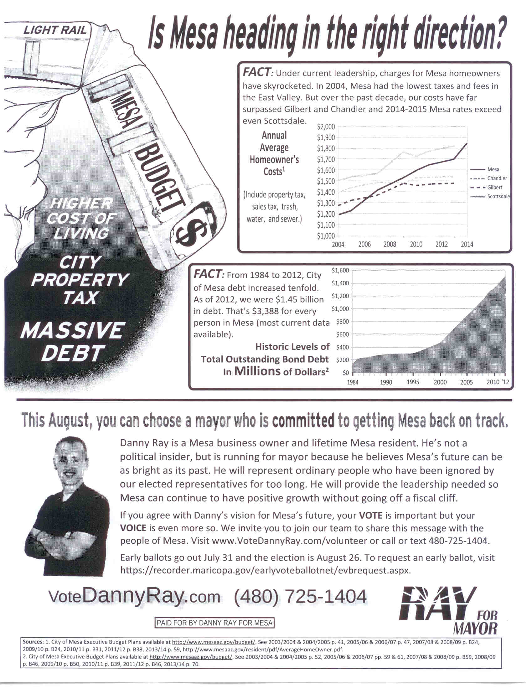Danny Ray for Mayor Mesa