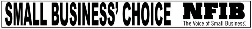 Small Business Choice NFIB Sign-Topper