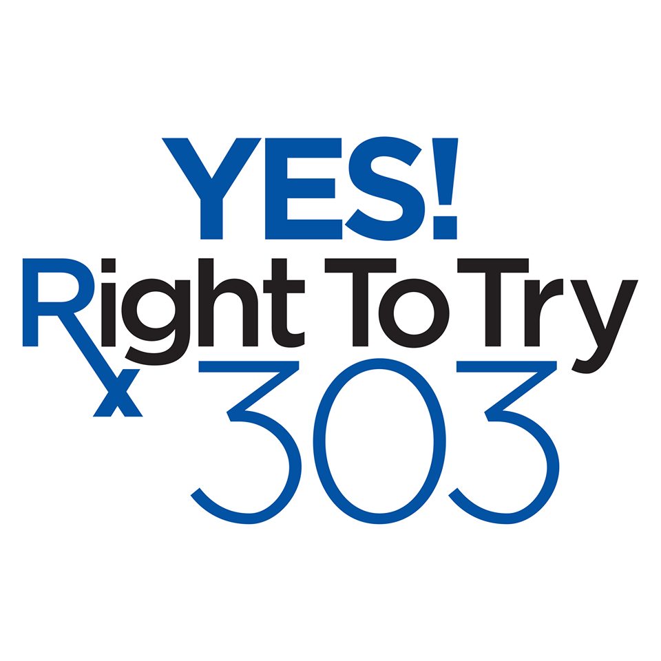 Support the Right to Try - Vote for 303