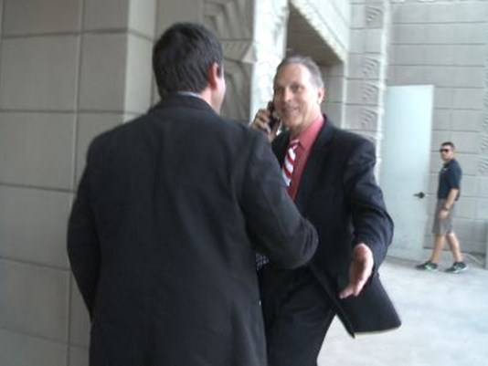 Andy Biggs Confronted