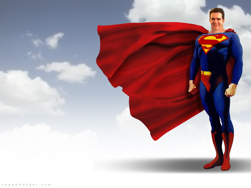 SuperMan Bob Stump